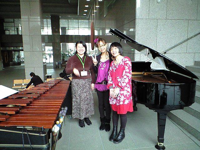 川崎市役所ランチタイムコンサート。